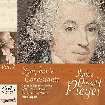 Pleyel / Youn / Loscher / Camerata Pro Musica - Concert Rarities 7 [CD] USA import