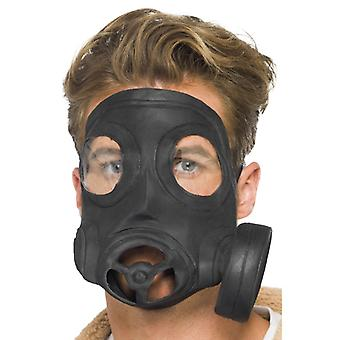 Gasmask LaTeX biohazard mask gasmask för karneval