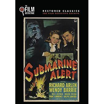 Ubåten Alert [DVD] USA importere