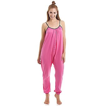 Camille Womens Sleeveless Pink Jumpsuit
