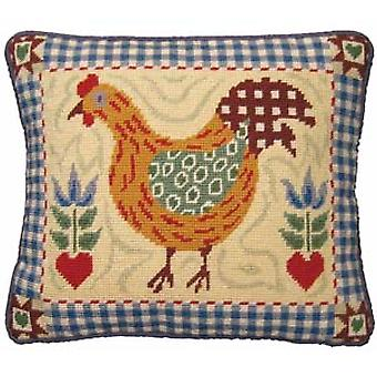 Shaker Hen Needlepoint Kit
