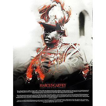 Marcus Garvey Poster With Biography (18x24)