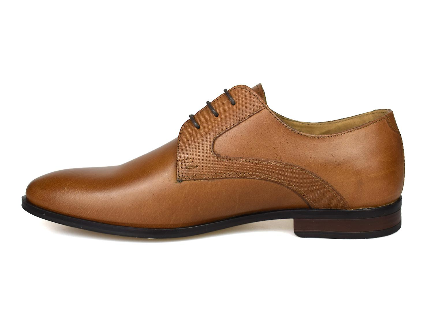 Red Tape Linton Tan Leather Formal Mens Shoes