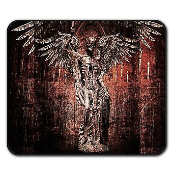 Angel Skeleton Rock  Non-Slip Mouse Mat Pad 24cm x 20cm | Wellcoda