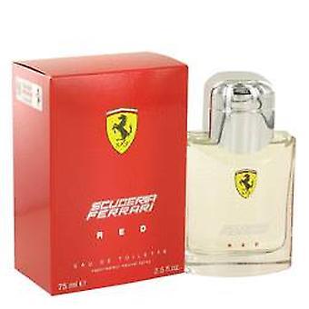 Ferrari Scuderia Ferrari Red Eau de Toilette 75ml EDT Spray