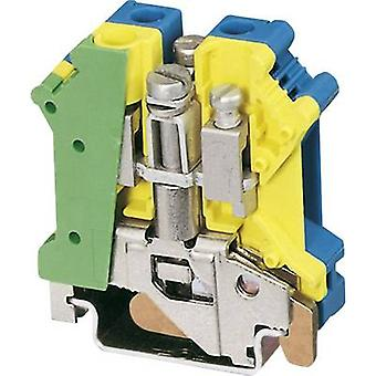 Phoenix Contact UK 6 N-PE/N 3024753 PG terminal Number of pins: 2 0.2 mm² 6 mm² Green-yellow, Blue 1 pc(s)