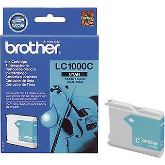 Brother bläck LC - 1000C Original Cyan LC1000C
