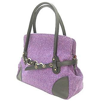 Harris Tweed Handtasche R (lila)