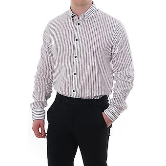 J Lindeberg Daniel Ls Striped Shirt