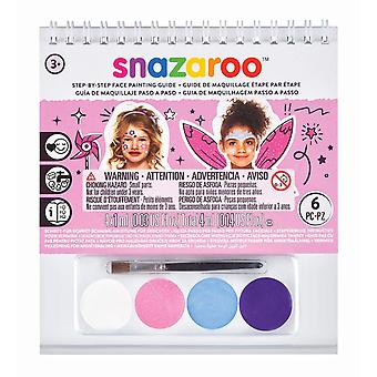 Snazaroo Princess face painting A6 booklet