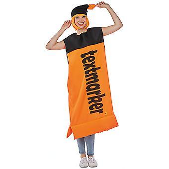 Markeerstift oranje unisex voelde tuniek mark Translator kostuum kostuum