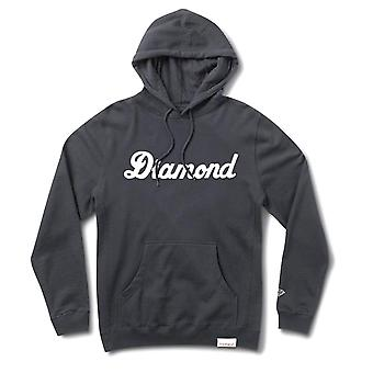 Diamond Supply Co City Script Pullover Hoodie Navy