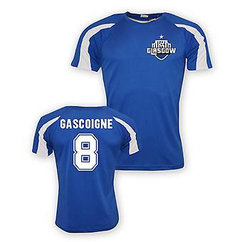 Paul Gascoigne Rangers Sporttraining Jersey (blau) - Kids