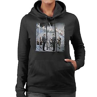 TV Times Beatles Lennon McCartney Orchestra Women's Hooded Sweatshirt