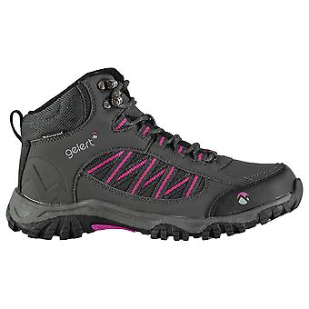 Gelert Womens Horizon Mid Waterproof Walking Boots Breathable Lace Up Shoes