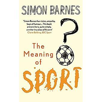 Le sens du Sport