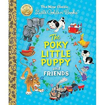 De Poky Little Puppy en vrienden: de negen klassieke gouden boekjes (weinig Guldenboek Treasury)