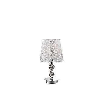 Idealne Lux - Le Roy Chrome mały Lampa Crystal ozdoba IDL073439