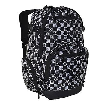 No Fear Unisex Check Backpack