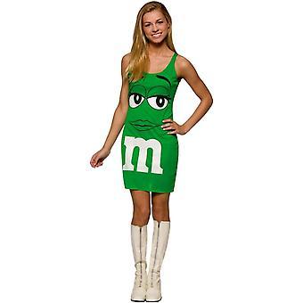 Robe verte M & M Costume Teen