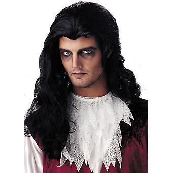 Vampier nachtmerrie mannelijke pruik voor Halloween