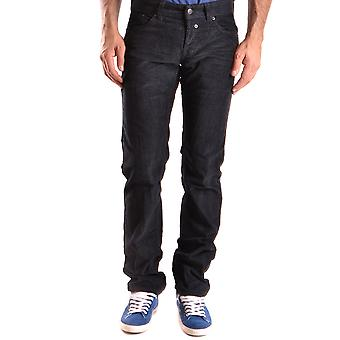 John Richmond Ezbc082035 Men's Black Velvet Jeans