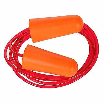 sUw - Corded bouchon oreille de mousse d'unité centrale (200 paires) Orange Regular