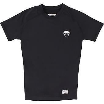 Venum Mens Contender 2.0 chemise à Compression manches courtes - noir