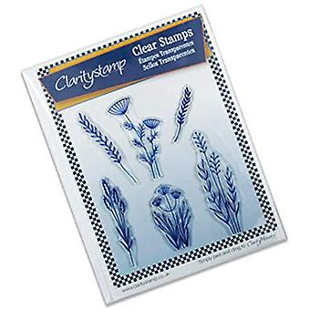 Claritystamp Meadow Grasses Clear Stamps