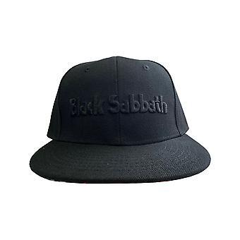 Black Sabbath Baseball Cap band Logo & Demon new Official Black Snapback