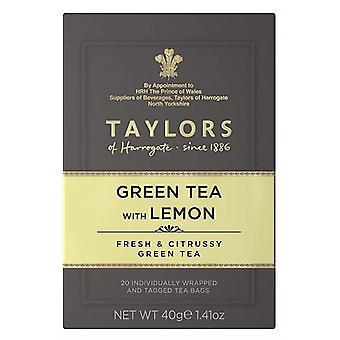 Taylors z Harrogate zielona herbata z cytryną