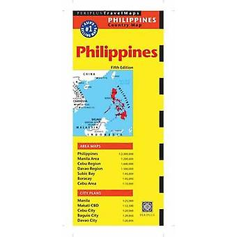 Philippines Travel Map (5th Revised edition) by Periplus Editors - 97