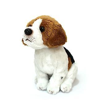 Cuddly critters Dog Benny JNR sentado Beagle 15cm