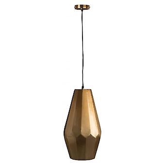 Fusion Living geometrische medium koper hanger