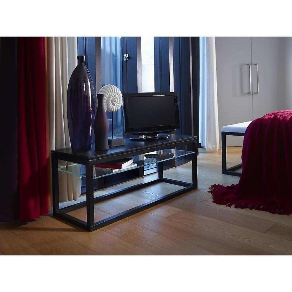 Gillmore Large Wenge TV Stand And Media Unit