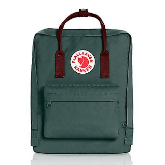 Fjallraven - Kanken Classic Backpack for Everyday - Forest Green/Ox Red