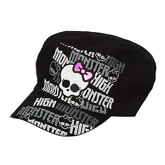 Cadet Cap - Monster High - Twill Black Kids/Youth New 083165-black