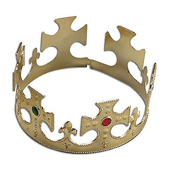 Bnov Gold Plastic Crown