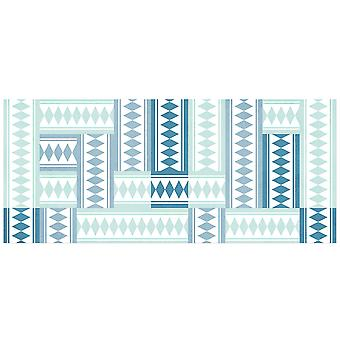Hapro Vinyl carpet Hapro turquoise tiles (Decoration , Carpets)