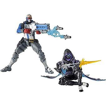 Overwatch, toiminta hahmot-sotilas 76 ja Ana
