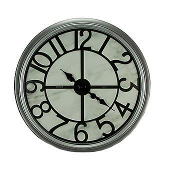 Rodada moldura Bevel Oversize relógio de parede de 30 polegadas