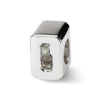 925 sterling sølv polert refleksjoner tall 0 perle sjarm anheng halskjede smykker gaver til kvinner