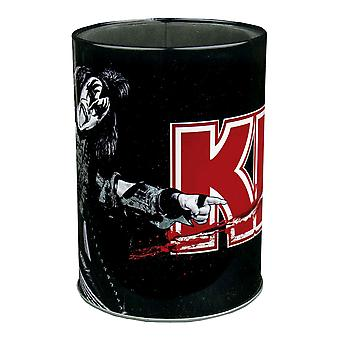 Kiss the Demon Metal Can Cooler