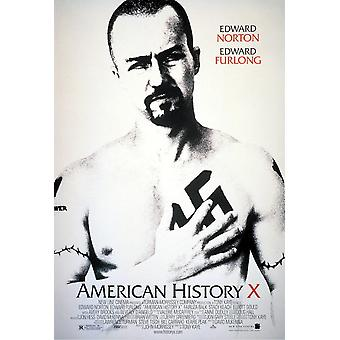American History X Original Movie Poster - Double Sided Regular Style