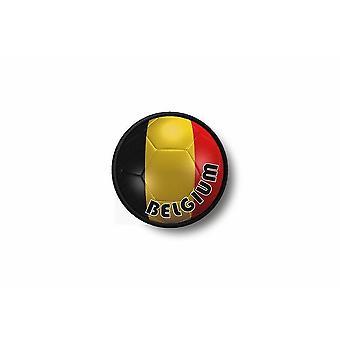 Patch badge Ecusson Brode prints Thermo collant vlag ballon voet België