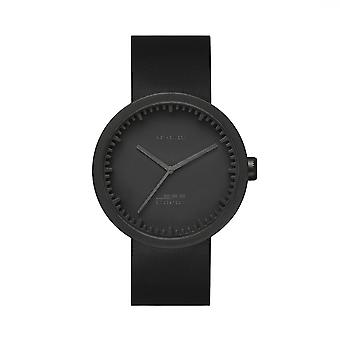 Leff Amsterdam LT71011 D38 Black Tube Wristwatch