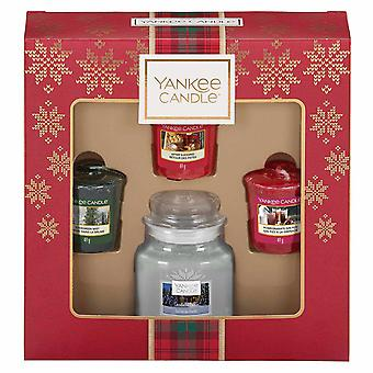 Giftset Yankee kaars 3 votives & 1 kleine pot