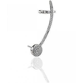 Sif Jakobs Ear Cuff Fucino Silver Collection SJ-E0482-CZ-L