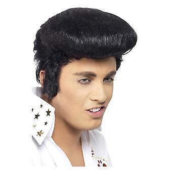 Hombres Elvis Deluxe peluca disfraces accesorios