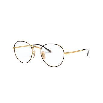 Ray-Ban RB3582V 2945 Havana-Gold Glasses